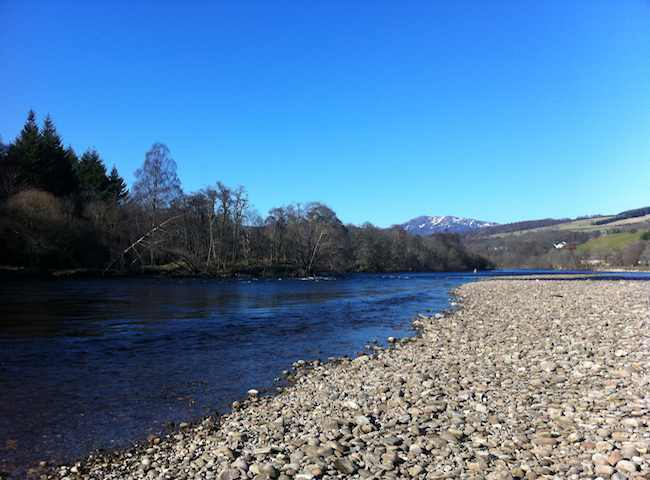 Here's A Prime Example Of A Scottish Salmon Fishing River